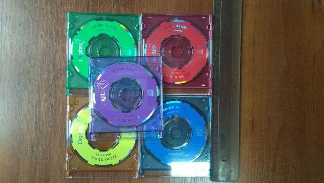 Mini CD-RW сд рв мини цветные диски