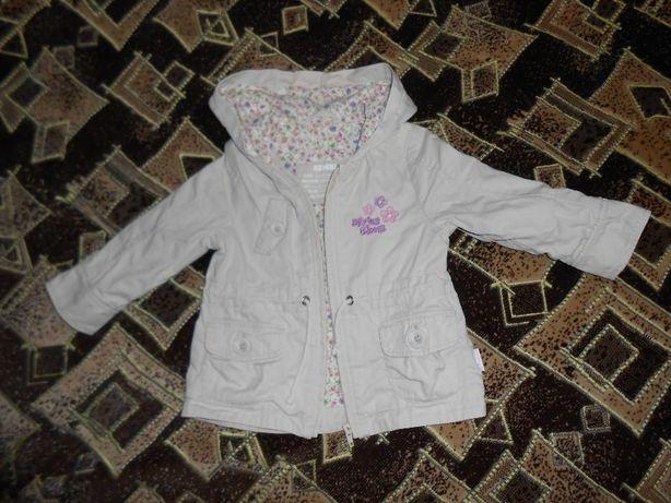 Куртка для дівчинки демісезонна