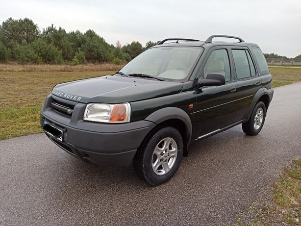 Land Rover Freelander 2000r Europa 2.0TD 4X4 Alufelga Hak ! Ładny
