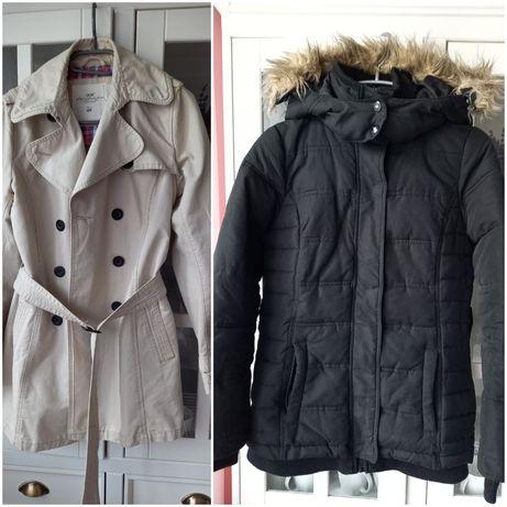 Zestaw kurtka zimowa, płaszcz H&M, Hosue S