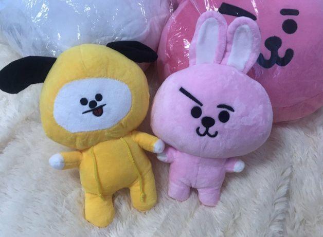 Игрушки BTS BT21 Cooky и Chimmy
