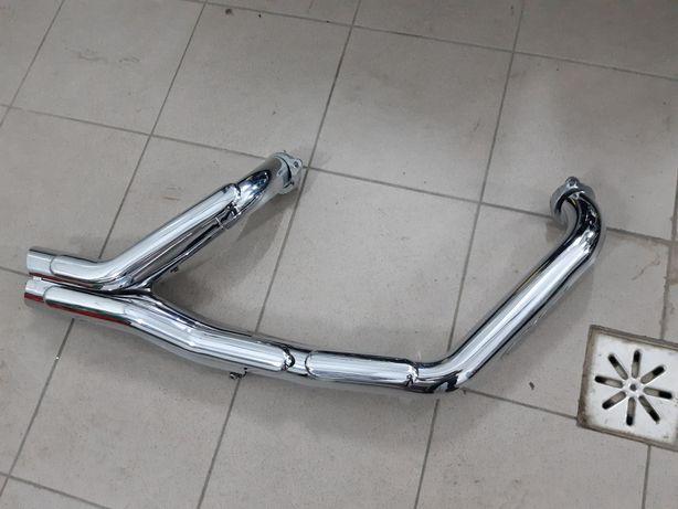 Kolanko kolektor wydechowy Yamaha xvs1300