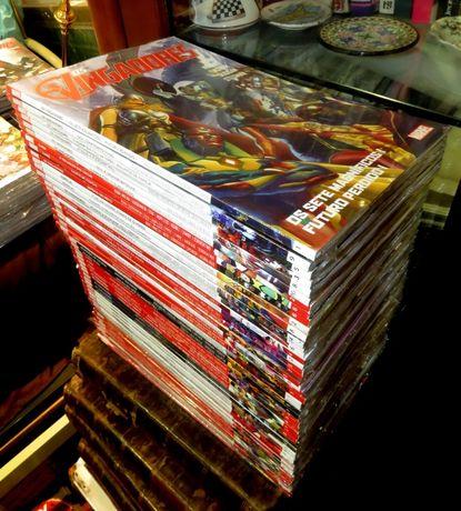 Marvel+Goody_Lote de 50 livros NOVOS, TODOS diferentes