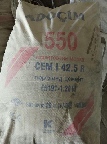 Цемент Турция  500 , 400 с доставкой Щебень,Песок,Отсев