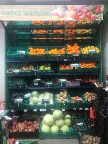 Regał na owoce i warzywa