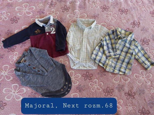 Komplet eleganta Mayoral,  Next chłopiec rozm.68