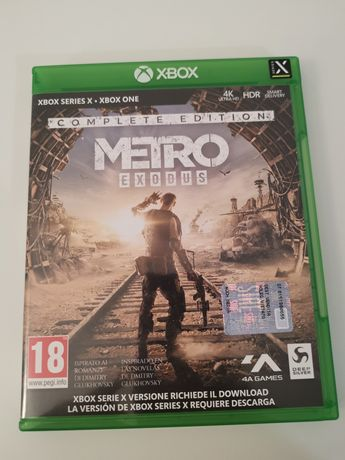Metro exodus complete edition xbox série x