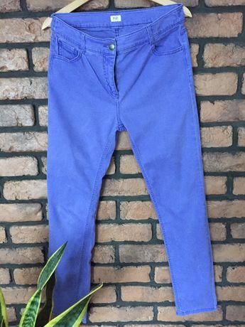 Spodnie F&F Modny kolor fiolet M/38