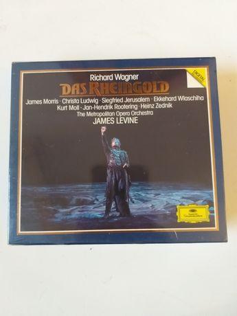 Złota płyta CD Richard Wagner opera James Levine