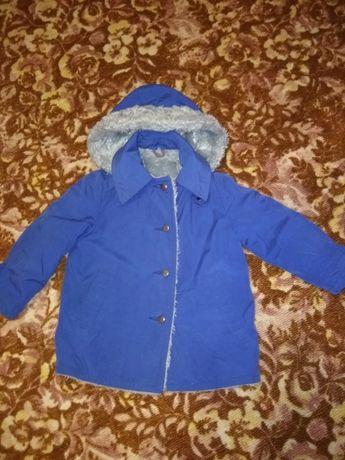 продам куртка-пальто детская