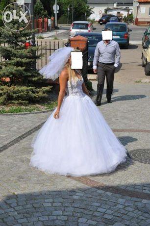 śliczna suknia ślubna SVAROWSKI