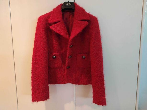 Piękny czerwony żakiet M r 12 nowy
