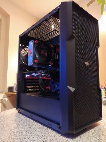 Komputer, i7 9700K, GTX 1080Ti, 32GB DDR4, SSD M.2