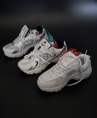 Кроссовки женские белые New Balance 530