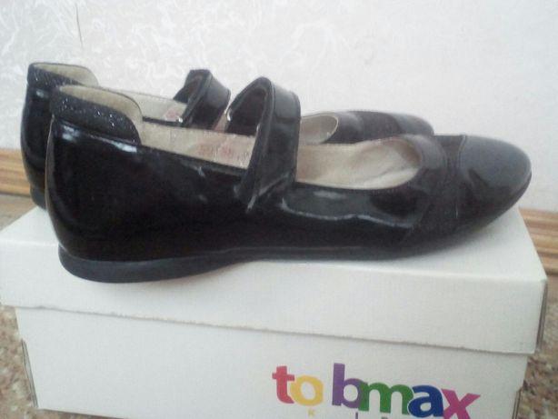 Туфли нарядные кожаные