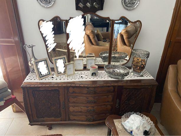 Aparador c/espelho vintage