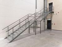 Schody Metalowe zew/wew. schody warsztatowe schody techniczne magazyn