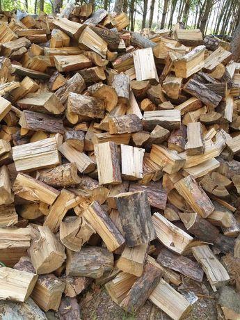 Drewno drzewo opałowe sosna dąb buk zrzyny drewno rozpalkowe
