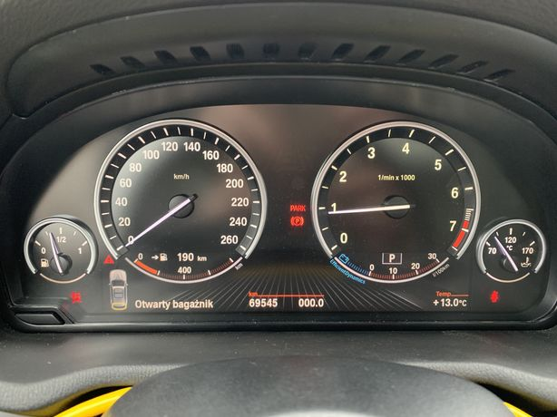 Wyzerowane Zegary Licznik BMW 6WA F10 F25 F11 F01 pod VIN
