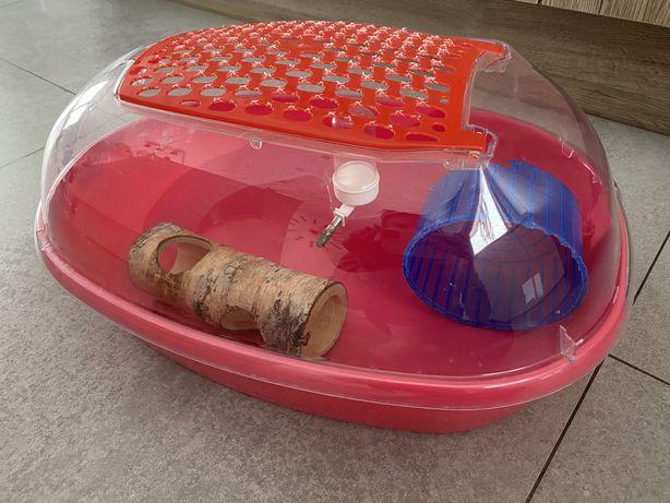 Plastikowa klatka domek dla chomika