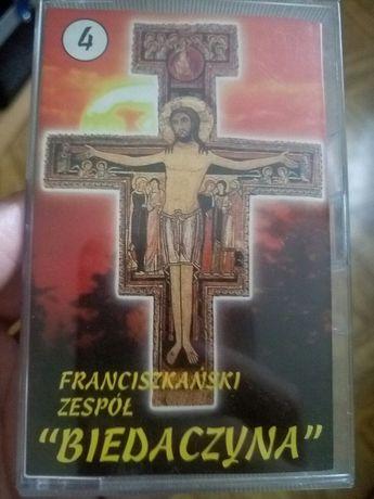 Franciszkanski zespół Biedaczyna - kaseta