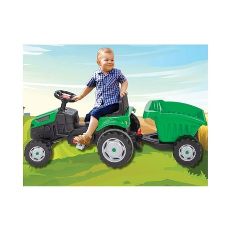 Auto Samochód TRAKTOR NA PEDAŁY dla dzieci jeep motor quad zabawki