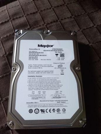 Жесткий диск maxtor 750Gb