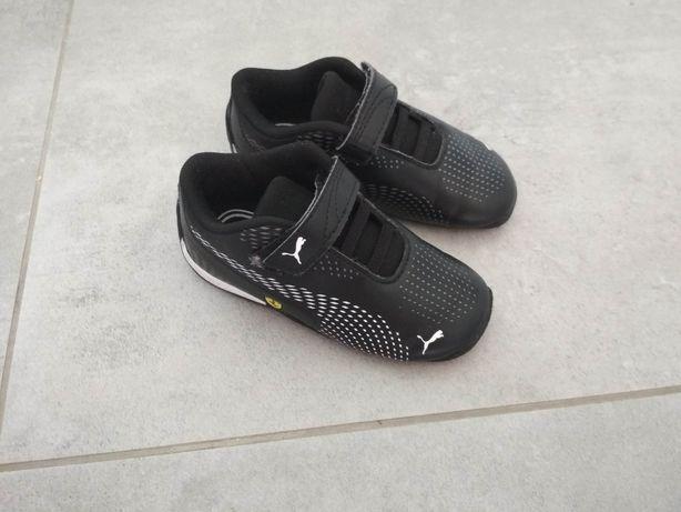 Buty dziecięce Puma Scuderia Ferrari Drift Cat 5 Ultra II Velcro