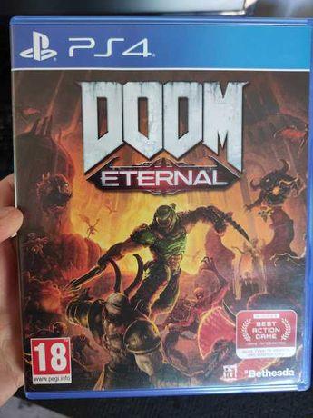 Doom Eternal Ps4 e dá ps5 como novo PlayStation 4 com selo igac