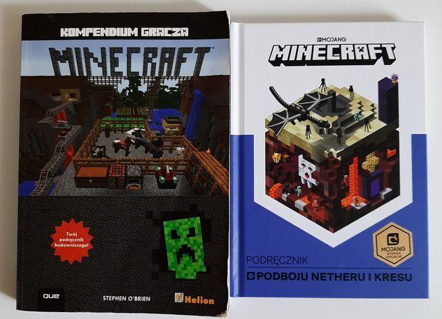 Minecraft Kompendium gracza i Podręcznik podboju Netheru i Kresu