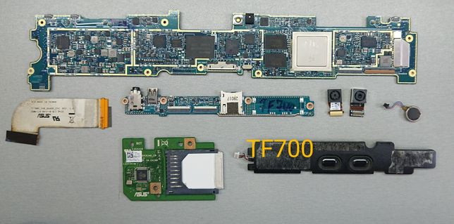 Asus TF700 / ME302C / ME301 . Разборка, шлейф камера кнопка разъем