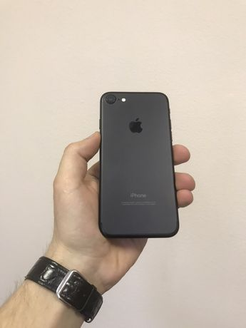 iPhone 7 128 neverlock Black / Гарантия, обмен, рассрочка