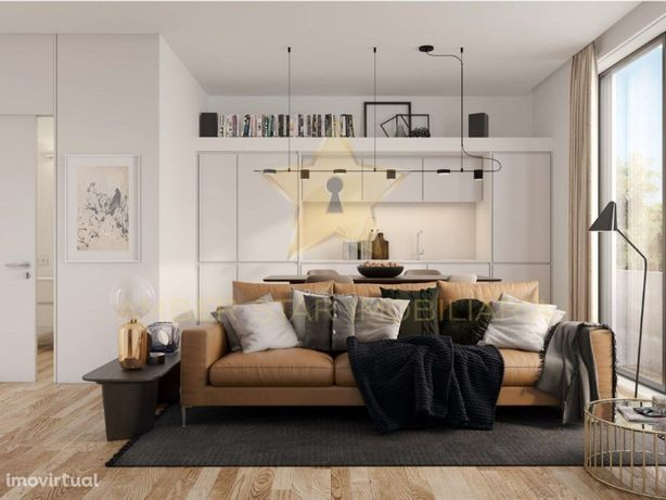 Apartamento T1+1 de 83 m² a 250 m da Universidade Fernand...