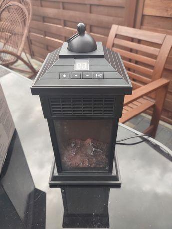 Kominek latarnia z efektem płomieni, funkcja grzania