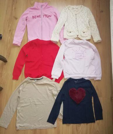 Mega paka firmowych ubrań dla dziewczynki rozm 122/128. Ponad 50szt
