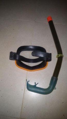 Equipamento mergulho aguas rasas - Snorkeling