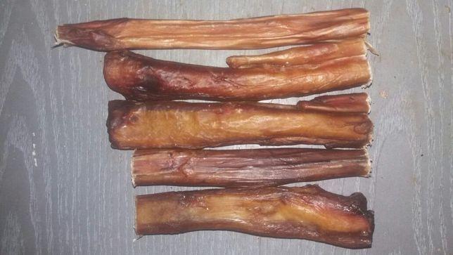 Сушеный бычий корень,трахея,рубец,жилки,хвост.