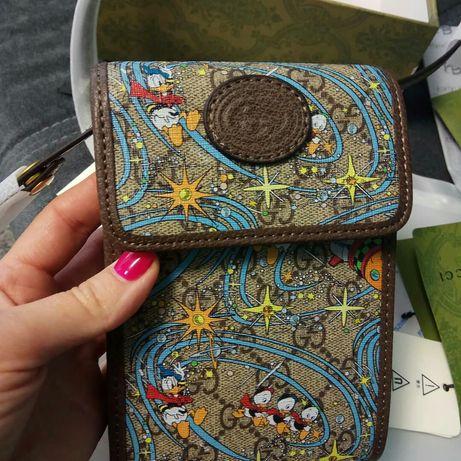 Стильная мини сумка Gucci x Disney 2021