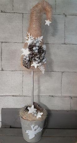 Choinka stroik świąteczny