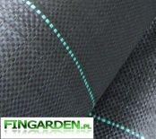 Agrotkanina mata 0,8x100m czarna gruba 90g filtr UV