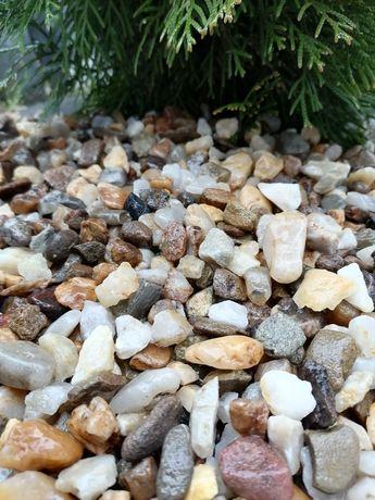Kamień Żwir 8-16 mm grys granitowy Biała Marianna.