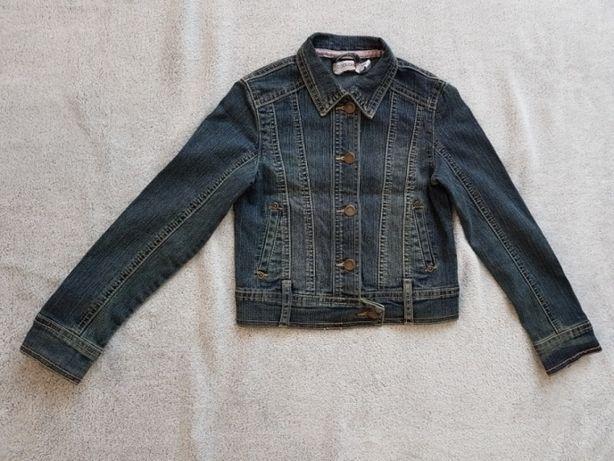 Kurteczka jeansowa katanka cool club roz 122 dziewczęca