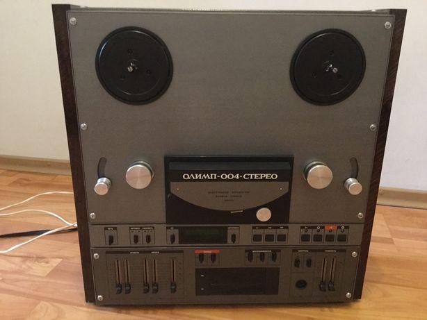Бобинный магнитофон Олимп 004