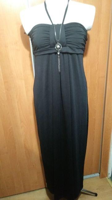 Elegancka czarna sukienka hiszpanka, 44-46.