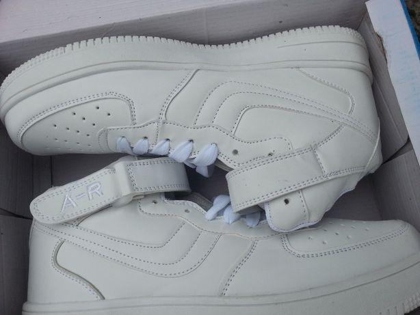 Buty męskie białe roz.44 NOWE