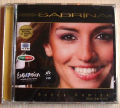 Sabrina - Dança comigo (Vem ser feliz) Promo-CD