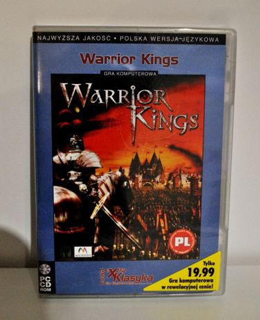 Warrior Kingds PC CD TANIO