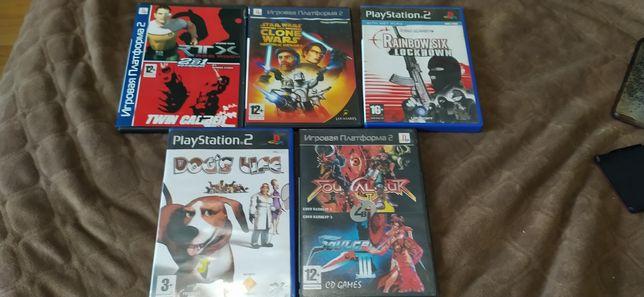 Діски ігр до PlayStation 2