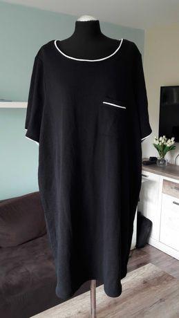 Czarna tunika sukienka Junarose rozm. 52-54. Możliwa wysyłka