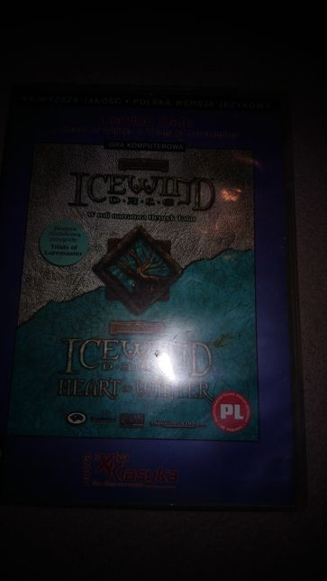 Icewind Dale plus Heart of Winter pc PL